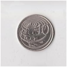 KAIMANŲ SALOS 10 CENTS 1992 KM # 89a XF