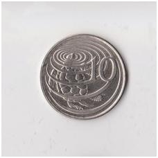 KAIMANŲ SALOS 10 CENTS 1996 KM # 89a XF