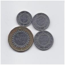 KAMBODŽA 1994 m. 4 monetų rinkinukas