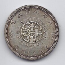 KANADA 1 DOLLAR 1964 KM # 58 VF KONFERENCIJA