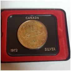 KANADA 1 DOLLAR 1972 KM # 64.2a UNC