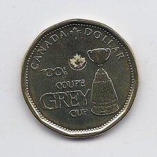 KANADA 1 DOLLAR 2012 KM # 1294 UNC Grey Cup