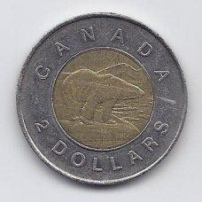 KANADA 2 DOLLARS 1996 KM # 270 VF