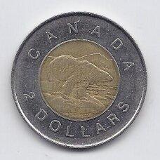 KANADA 2 DOLLARS 1997 KM # 270 VF