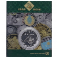 KAZACHSTANAS 100 TENGE 2018 KM # new UNC 25 m. valiutai