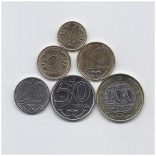 KAZACHSTANAS 2019 m. 6 monetų komplektas ( nauja legenda )
