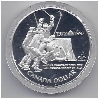 KANADA 1 DOLLAR 1997 KM # 282 PROOF