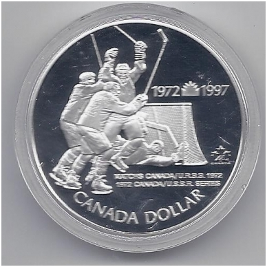 KANADA 1 DOLLAR 1997 KM # 282 PROOF