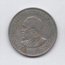 KENIJA 1 SHILLING 1969 KM # 14 VF