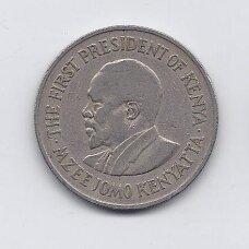KENIJA 1 SHILLING 1971 KM # 14 VF