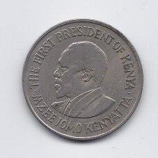 KENIJA 1 SHILLING 1973 KM # 14 VF