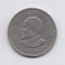KENIJA 1 SHILLING 1975 KM # 14 VF