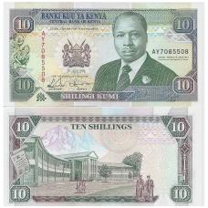 KENIJA 10 SHILLINGS 1993 P # 24e UNC