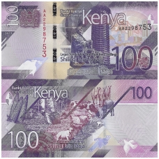 KENIJA 100 SHILLINGS 2019 P # new UNC