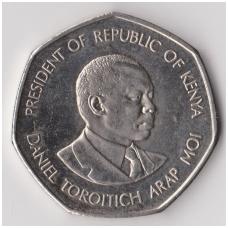 KENIJA 5 SHILLINGS 1994 KM # 23a XF