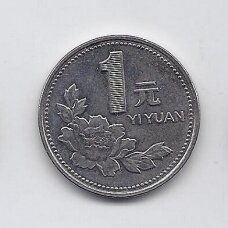 KINIJA 1 YUAN 1999 KM # 337 XF