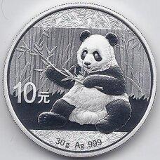 KINIJA 10 YUAN 2019 KM # new PROOF PANDA