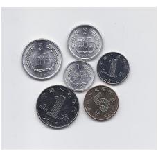 KINIJA 6 monetų rinkinukas