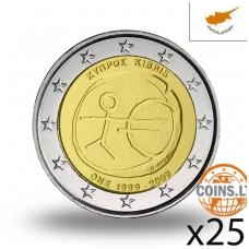 KIPRAS 2 EURAI 2009 EMU RITINĖLIS (25 vnt.)