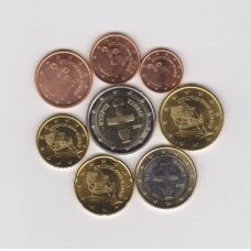 KIPRAS 2008 m. pilnas euro komplektas