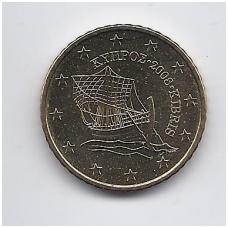 KIPRAS 50 EURO CENTS 2008 KM # 83 UNC