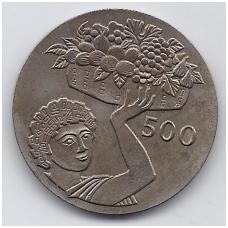 KIPRAS 500 MILS 1970 KM # 43 AU FAO