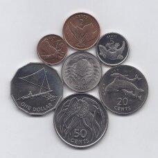 KIRIBATIS 1979 m. 7 monetų pilnas rinkinys