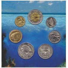 Kokosų salų 2004 m. pilnas rinkinys ( lankstinukyje )