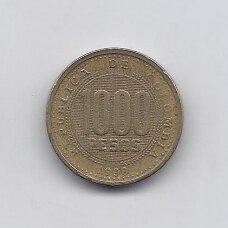 KOLUMBIJA 1000 PESOS 1998 KM # 288 VF