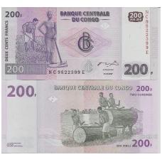 KONGAS 200 FRANCS 2007 P # 99 UNC