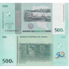 KONGAS 500 FRANCS 2010 P # 100 UNC