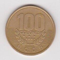 KOSTA RIKA 100 COLONES 1995 KM # 230 VF