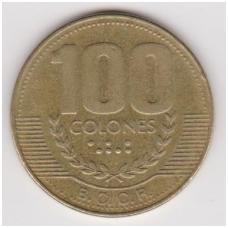 KOSTA RIKA 100 COLONES 1999 KM # 230a.1 VF