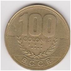 KOSTA RIKA 100 COLONES 2000 KM # 240 VF