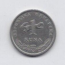 KROATIJA 1 KUNA 2003 KM # 9.1 VF