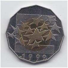 KROATIJA 25 KUNA 1999 KM # 64 AU EURO VALIUTA