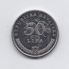 KROATIJA 50 LIPA 1998 KM # 19 XF
