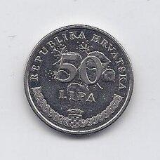 KROATIJA 50 LIPA 2002 KM # 19 XF