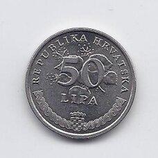 KROATIJA 50 LIPA 2007 KM # 8 XF