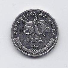 KROATIJA 50 LIPA 2009 KM # 8 XF