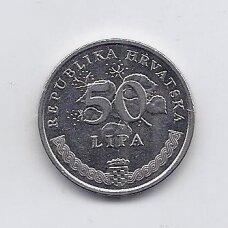 KROATIJA 50 LIPA 2011 KM # 8 XF