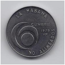KUBA 1 PESO 1979 KM # 191 UNC