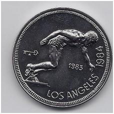 KUBA 1 PESO 1983 KM # 173 UNC