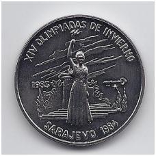 1 PESO 1983 KM # 195 UNC