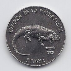 KUBA 1 PESO 1985 KM # 182 UNC