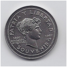 1 PESO 1987 KM # 165 UNC