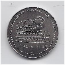 KUBA 1 PESO 1989 KM # 248 UNC