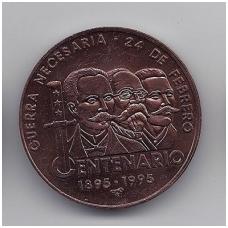 1 PESO 1995 KM # 520 UNC
