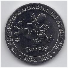 1 PESO 1998 KM # new UNC