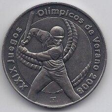 KUBA 1 PESO 2006 KM # 870 UNC Vasaros Olimpiada